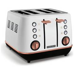 Morphy Richards 240115 Evoke 4 Slice Toaster - White