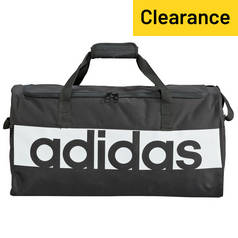 Adidas Linear Medium Holdall and Gym Sack - Black