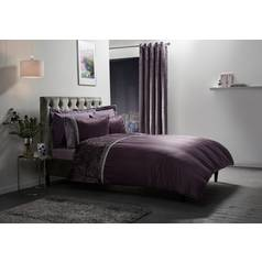 Julian Charles Lia Mauve Bedding Set - Superking