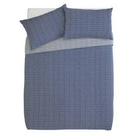 Argos Home Navy Arrow Bedding Set - Double