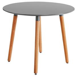 Argos Home Charlie Round 4 Seat Dining Table - Grey