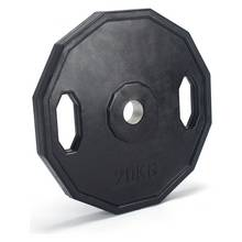 Men's Health Rubber Weight Plates - 2 x 20kg