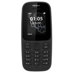 SIM Free Nokia 105 Mobile Phone - Black