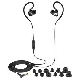 JLab Fit 2.0 In-Ear Sports Headphones - Black