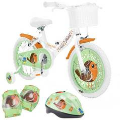 Pedal Pals 16 Inch Tweet Kids Bike and Accessories Bundle