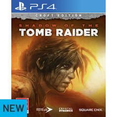 Shadow of the Tomb Raider: Croft Edition PS4 Game