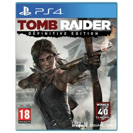 Tomb Raider: Definitive Edition PS4 Game