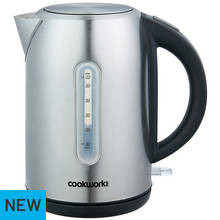 Cookworks Illuminated Kettle - Brushed Stainless Steel