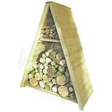 Homewood Tall Triangular Log Store