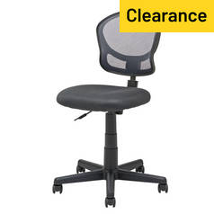 Argos Home Mesh Adjustable Office Chair - Grey