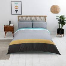 Sainsbury's Home Newstalgia Stripe Bedding Set - Kingsize