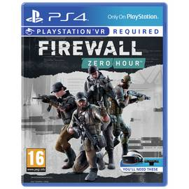 Firewall Zero Hour PS VR Game (PS4)