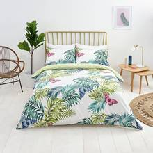 Sainsbury's Home Palm House Butterfly Bedding Set - Kingsize