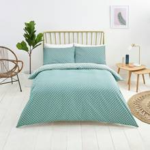 Sainsbury's Home Palm House Teal Bedding Set - Kingsize