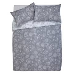 Argos Home Grace Grey Bedding Set - Kingsize