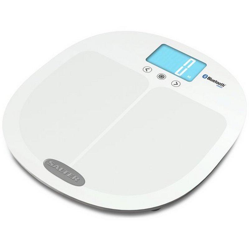 Salter Bluetooth Smart Body Analyser Scale - White from Argos