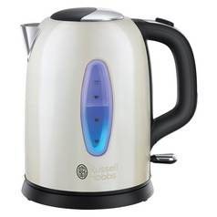 Russell Hobbs 25512 Worcester Kettle - Cream Stainless Steel