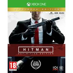 Hitman S1 20th Anniversary Steel Bk Xbox One Game
