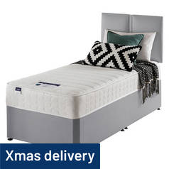 Silentnight Hatfield Microquilt Divan Bed - Single