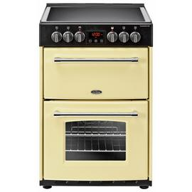 Belling Farmhouse 60E 60cm Electric Range Cooker - Cream