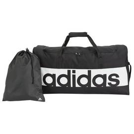 bdd91f3a60 Adidas Linear Large Holdall and Gym Sack - Black