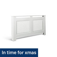 Argos Home Austin Large Radiator Cover - White