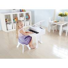 Hape Deluxe Grand Piano - White