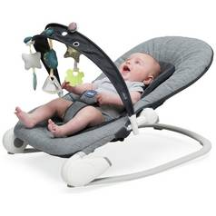 Chicco Hoopla Bouncer - Dark Grey