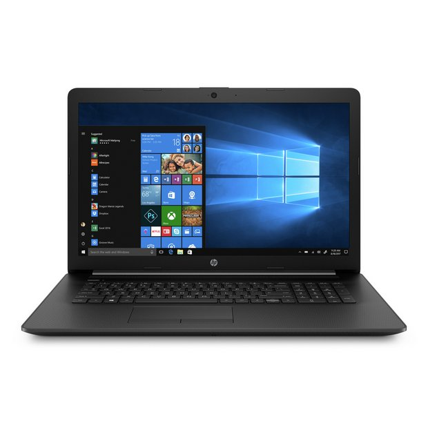 Buy Hp 17 3in Athlon Silver 4gb 1tb Laptop Black Laptops Argos