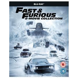 Fast & Furious 8 Movie Collection Blu-ray Box Set