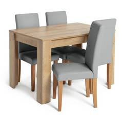 Argos Home Miami Extendable Dining Table   4 Chairs 8fc424669