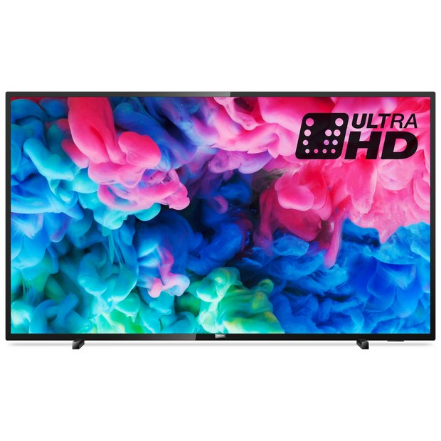 Buy Philips 55 Inch 55PUS6503 Smart 4K HDR LED TV | Televisions | Argos