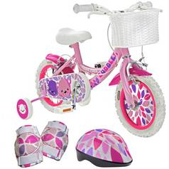 Pedal Pals 12 Inch Cuddles Kids Bike and Accessories Bundle