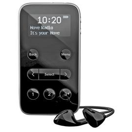 Pure Move R3 Personal DAB+/FM Radio - Black