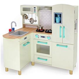 Chad Valley Wooden Kitchen with Breakfast Bar