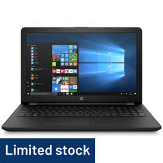 HP 17.3 Inch AMD A9 8GB 1TB Laptop - Black