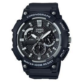 Casio Men's Chronograph Black Resin Strap Watch