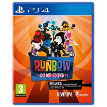 Runbow Deluxe Edition PS4 Pre-Order Game