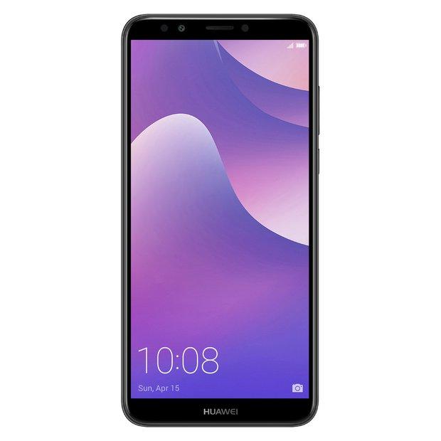 5b6809982f9 Buy SIM Free Huawei Y7 16GB Mobile Phone - Black