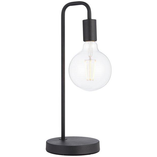 Buy Argos Home Rayner Table Lamp Black | Table lamps | Argos