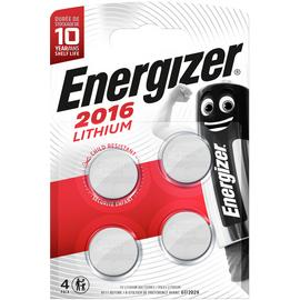 Energizer CR2016 Batteries - 4 Pack