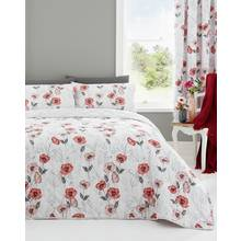 Dreams N Drapes Fliss Red Bedding Set - Kingsize