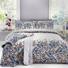 Dreams N Drapes Malinda Chambray Bedding Set - Kingsize