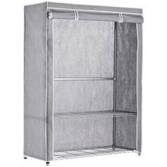 Argos Home Double Heavy Duty Covered Rail - Grey & White
