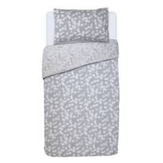 Argos Home Grey Honesty Bedding Set - Single