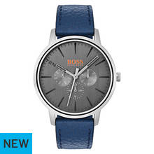 Hugo Boss Orange Copenhagen 1550066 Leather Strap Watch