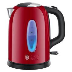 Russell Hobbs 25510 Worcester Kettle - Red Stainless Steel