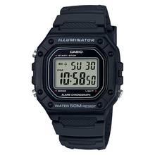 Casio Men's Chronograph Black Resin Strap Watch