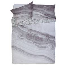 Argos Home Grey Marble Bedding Set - Kingsize