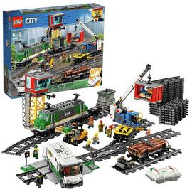 LEGO City Cargo Train RC Battery Powered Set - 60198